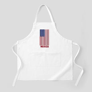Merica American Flag Apron