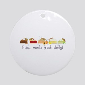 Made Fresh Daily! Ornament (Round)
