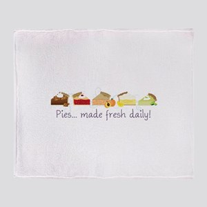 Made Fresh Daily! Throw Blanket