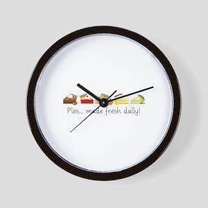 Made Fresh Daily! Wall Clock