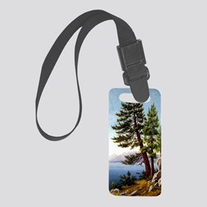 Pines, Lake Tahoe  Small Luggage Tag