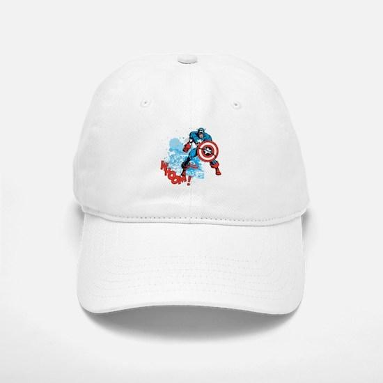 Captain America: Whoomp Baseball Baseball Cap