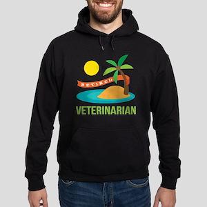 Retired Veterinarian Hoodie (dark)