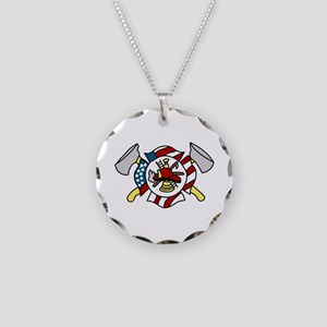 Firefighter's Crest Necklace