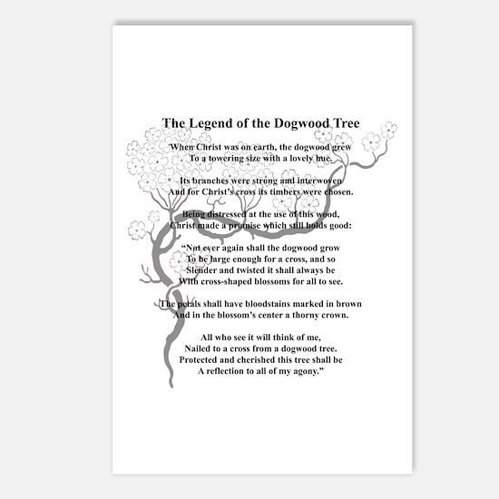 """Dogwood Tree Legend"" Postcards (Package of 8)"