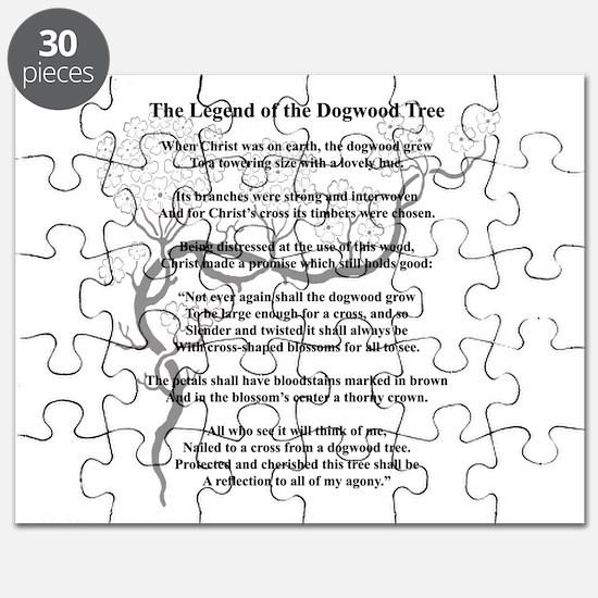 """Dogwood Tree Legend"" Puzzle"