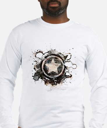 Captain America Star Long Sleeve T-Shirt
