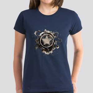 Captain America Star Women's Dark T-Shirt