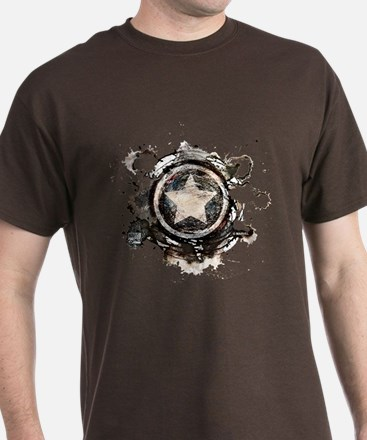 Captain America Star T-Shirt