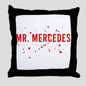 Mr. Mercedes Logo Throw Pillow
