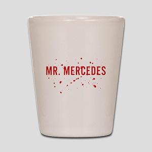 Mr. Mercedes Logo Shot Glass