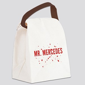 Mr. Mercedes Logo Canvas Lunch Bag