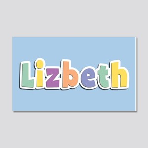 Lizbeth Spring14 20x12 Wall Decal