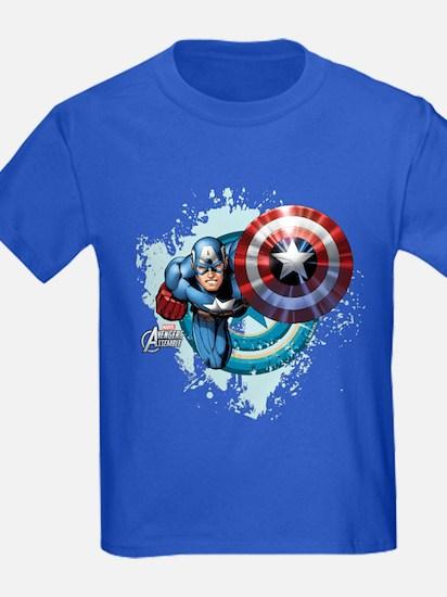 Captain America Flying T