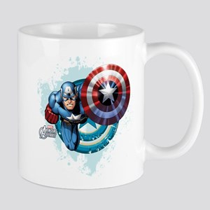 Captain America Flying Mug