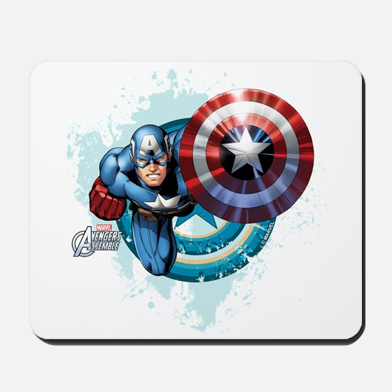 Captain America Flying Mousepad