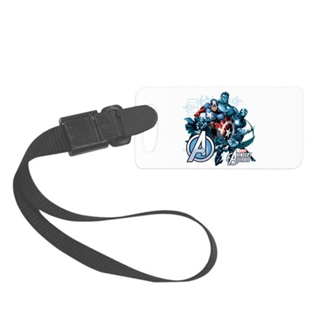 Captain America Avenger Small Luggage Tag