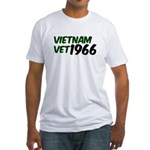 Vietnam Vet 1966 Fitted T-Shirt