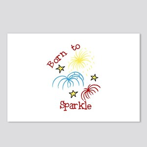 Born To Sparkle Postcards (Package of 8)