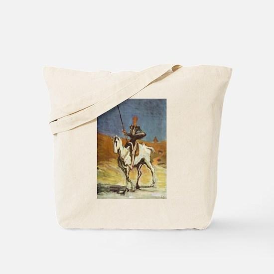 Honore Daumier Don Quixote Tote Bag