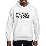 Vietnam Vet 1968 Hooded Sweatshirt