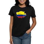 Colombiana Orgullosa Women's Dark T-Shirt