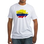 Colombiano Orgulloso Fitted T-Shirt