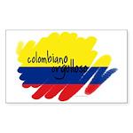 Colombiano Orgulloso Rectangle Sticker