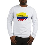 Colombiano Orgulloso Long Sleeve T-Shirt