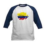 Colombiano Orgulloso Kids Baseball Jersey