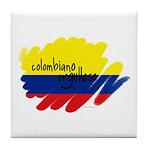 Colombiano Orgulloso Tile Coaster