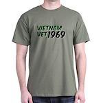 Vietnam Vet 1969 Dark T-Shirt