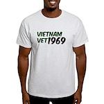 Vietnam Vet 1969 Light T-Shirt
