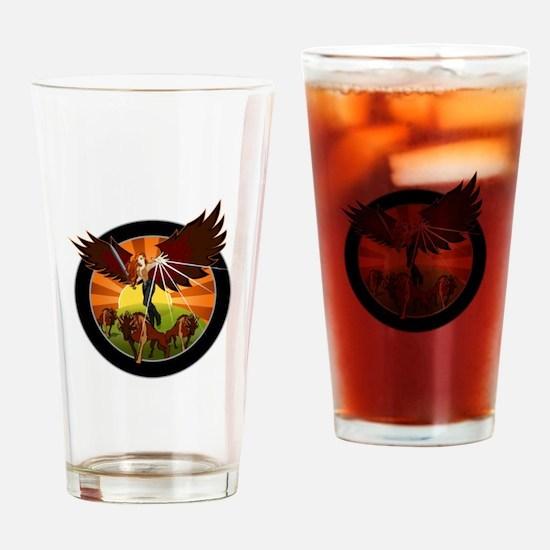 NROL-33 Program Drinking Glass