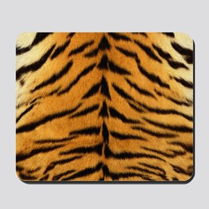 Tiger Fur Print Mousepad