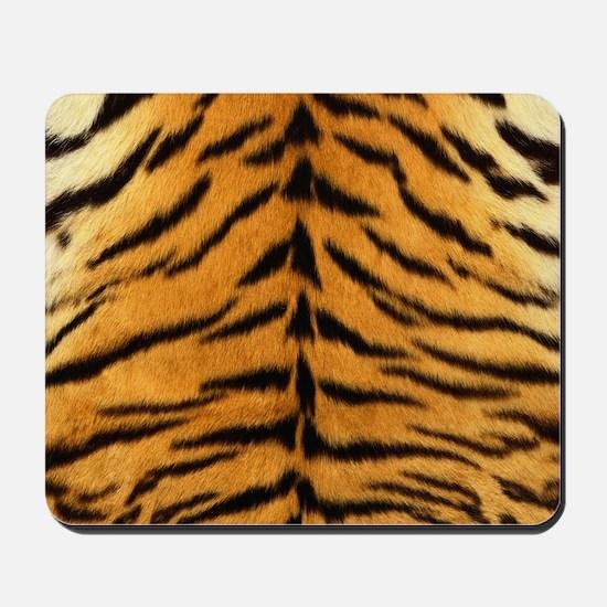 Tiger Fur Print Mousepad