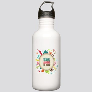 Travel around the world Stainless Water Bottle 1.0