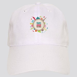Travel around the world Cap