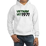 Vietnam Vet 1971 Hooded Sweatshirt