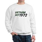 Vietnam Vet 1972 Sweatshirt