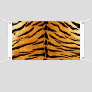 Tiger Fur Print Banner
