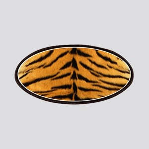 Tiger Fur Print Patches