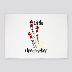 Little Firecracker 5'x7'Area Rug