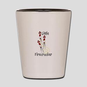 Little Firecracker Shot Glass