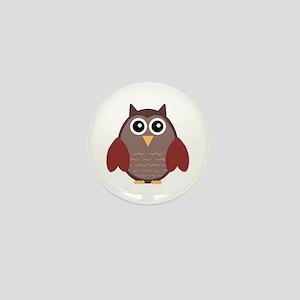 Owl Mini Button