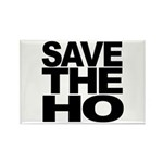 Save The Ho Rectangle Magnet (100 pack)