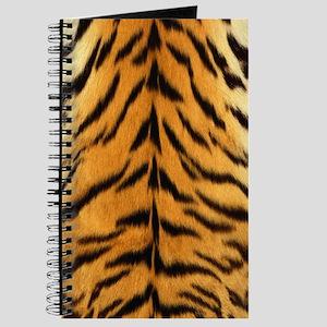 Tiger Fur Print Journal