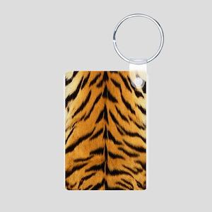 Tiger Fur Print Keychains