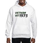 Vietnam Vet 1973 Hooded Sweatshirt