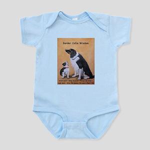 Border Collie Wisdom Infant Bodysuit